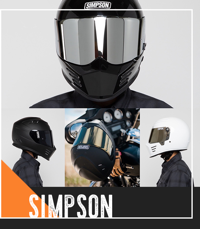 Simpson helmet now available